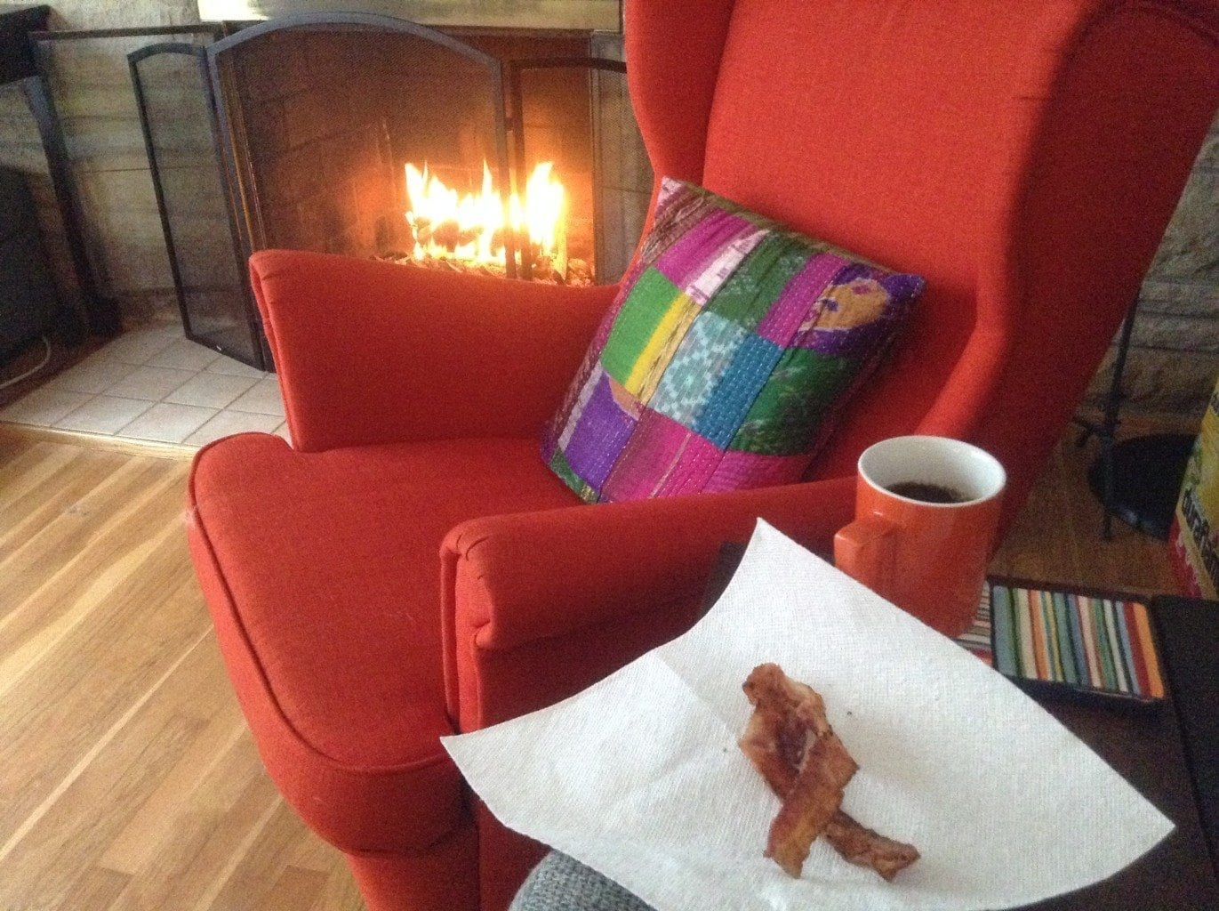 Bacon Fireplace