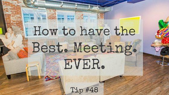 Best Meeting Ever Tip #48: Benefits of Walking Meetings