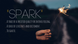 """Sharing the """"Spark"""": A New Initiative!"""
