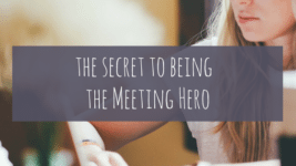 Be the Meeting Hero!