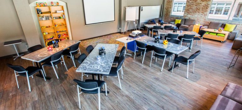 Loft meeting room layout