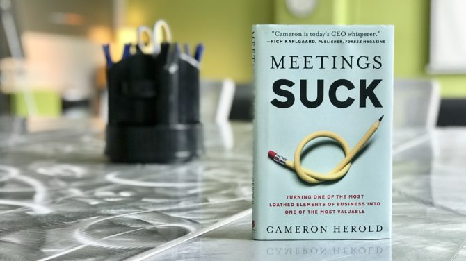 Best Quotes From Meetings Suck by Cameron Herold
